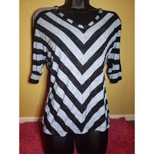 Apt 9 stripe top
